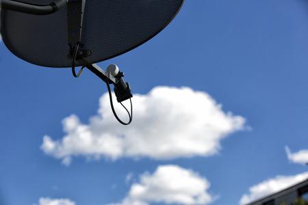 satelite: Antena Foto de archivo