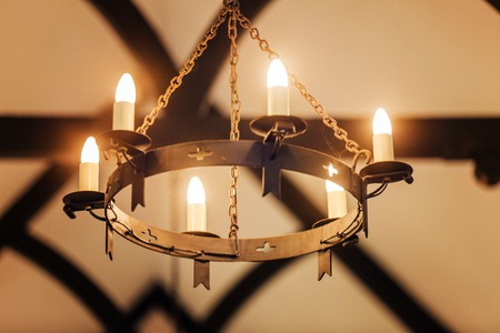 technological evolution: Shot of pretty Candle lights,