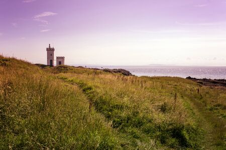 fife: Elie Lighthouse, in Fife Scotland