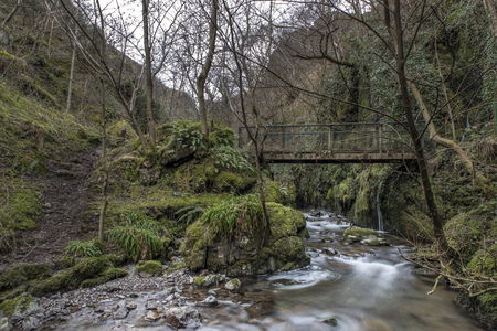 hydrology: Shot of an old Bridge, Alva Glen Scotland