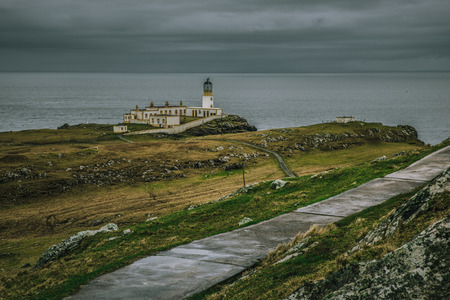 Path leading to Neist Point Lighthouse