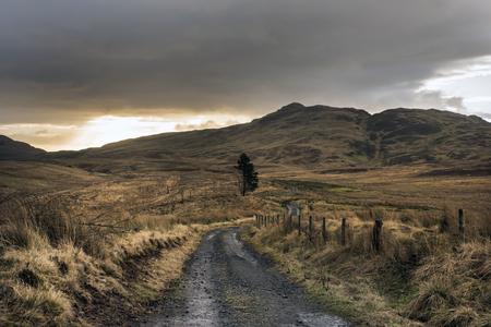 beautiful Scottish sunrise