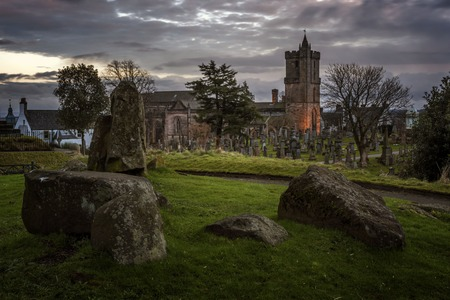 Spooky Castle Graveyard