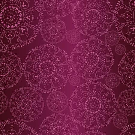 filigree swirl: abstract background Decorative seamless.