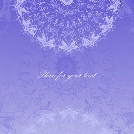 abstract wallpaper: oriental pattern. Seamless abstract wallpaper and background with place for text
