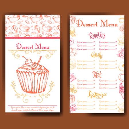 bake sale menu