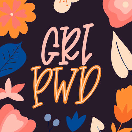 Inspirational girl power quote. Hand drawn lettering poster. Feminism woman motivational slogan. Vector illustration. 일러스트