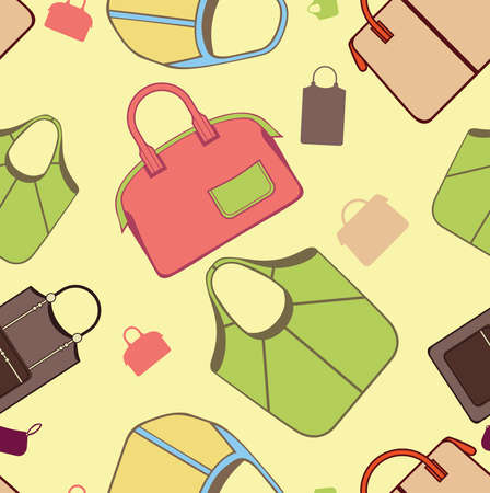 seamless bags patterns Stock Vector - 12010673