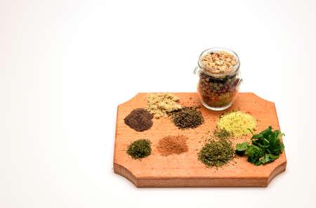 spicery: culinary spicery parsley cinnamon thyme savory pepper vegetate lovage