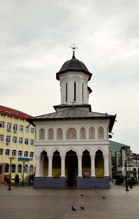 the prophets: Sfintii Voievozi Cathedral in center of Targu Jiu Gorj Romania