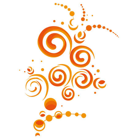 abstract spiral design