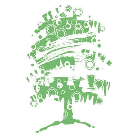 tree, abstract Illustration