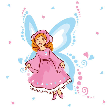 lovingly: elf, fairy Illustration
