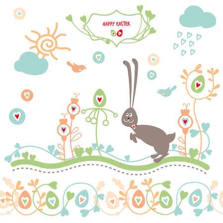Happy Easter, Illustration