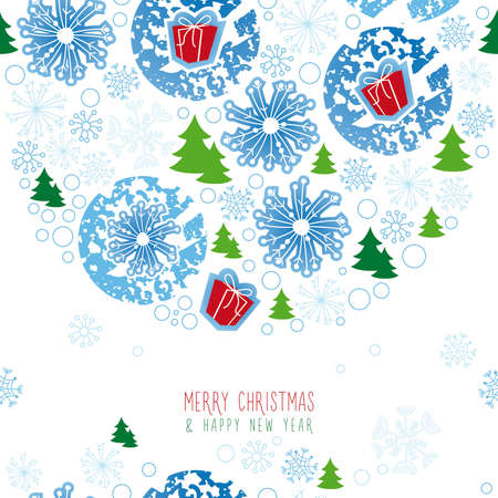 background, christmas, snowflake Illustration
