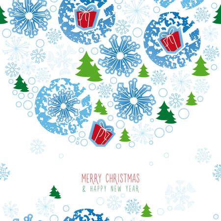 background, christmas, snowflake Illustration