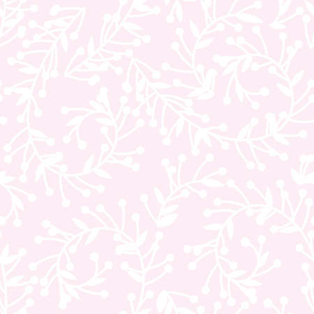 Seamless soft floral pattern