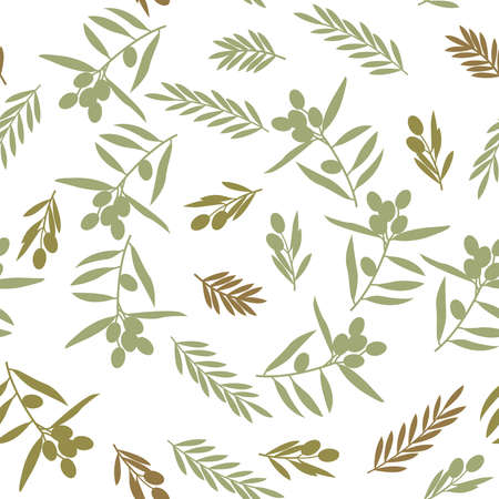 Seamless pattern, olive