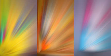 Multicolor abstract image. Color pulses of light. Futuristic backgrounds.