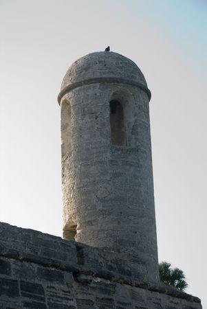 turret: Fort turret against sky