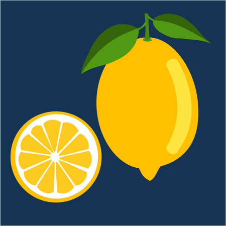 Lemon fruit Ilustrace