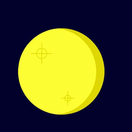 Volle maan Stock Illustratie