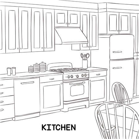 kitchen lines