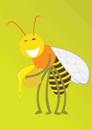 merry mood: Merry bee