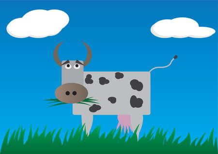 Cow Stock Vector - 4678713