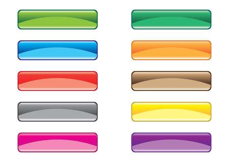 varicoloured: Varicoloured buttons Illustration