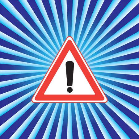 governed: Road sign Illustration