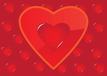 Romantic background Stock Vector - 5132270