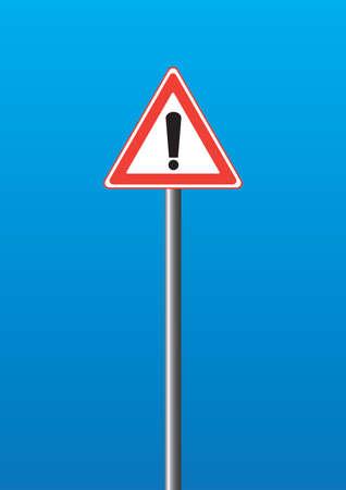 Warning-sign Stock Vector - 5132269