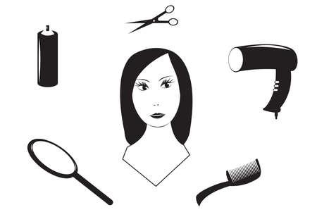 Hairdresser Stock Vector - 5239705