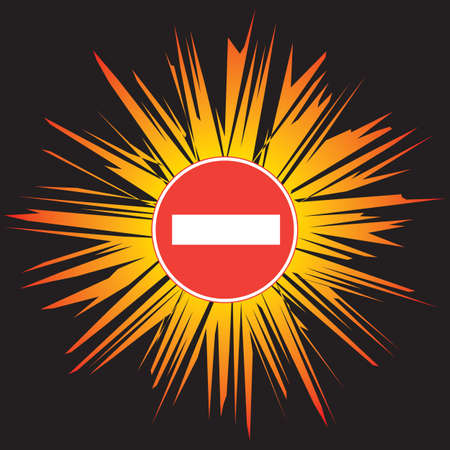 unauthorised: Attention - No Entry