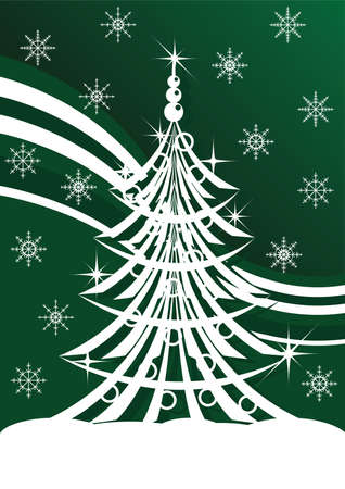 fir tree balls: Spruce has a green background