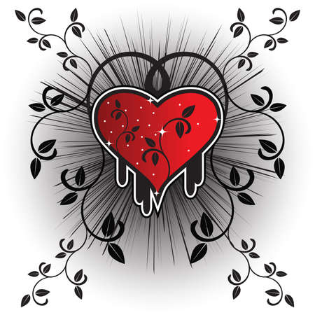brilliant heart: Heart for Valentines Day