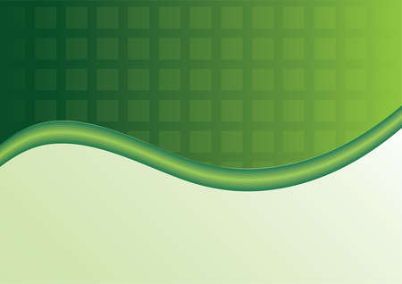 The green background with elements for presentation Vector