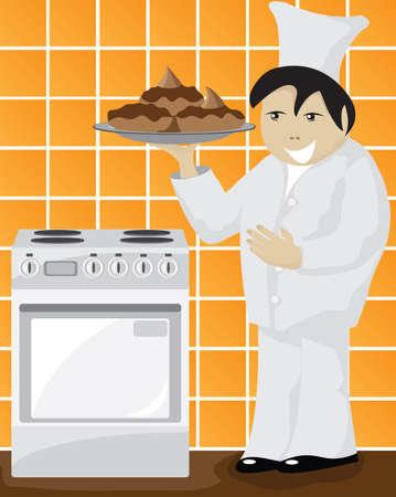 Chef Stock Vector - 8483818