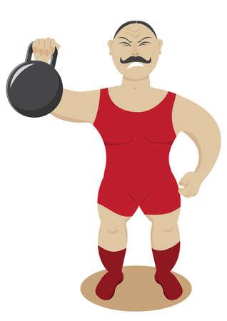 strongman: Circus strongman