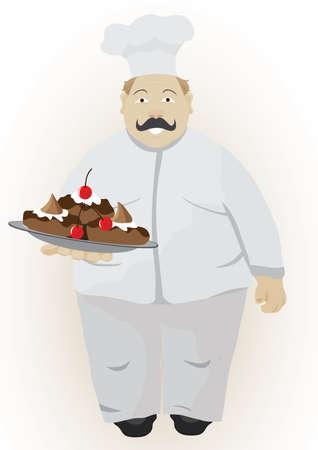 kitchener: Cook Illustration