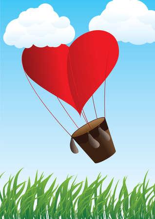 aerostat: Aircraft, flying heart