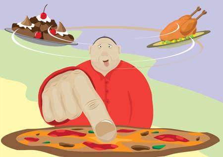 glutton: Hungry glutton