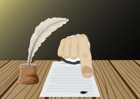 signed: Signed document