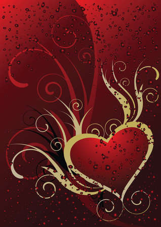 A beautiful heart Vector