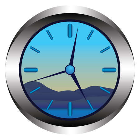 second hand: Clock
