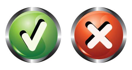 Two system buttons