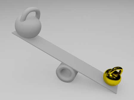 imbalance: Imbalance Stock Photo