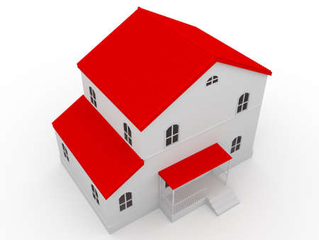 budget repair: The house with a red roof