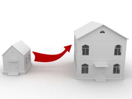 budget repair: Real estate  Stock Photo